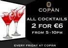 Friday's at Copán Rathmines