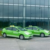 Set rate for Airport Transfers with Go Green Cabs